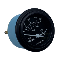 100174 Datcon Oil Pressure Gauge Side