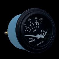 100174 Datcon Oil Pressure Gauge Side